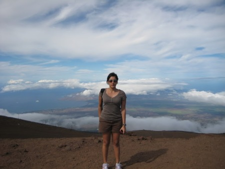 Me at the summit of Haleakala
