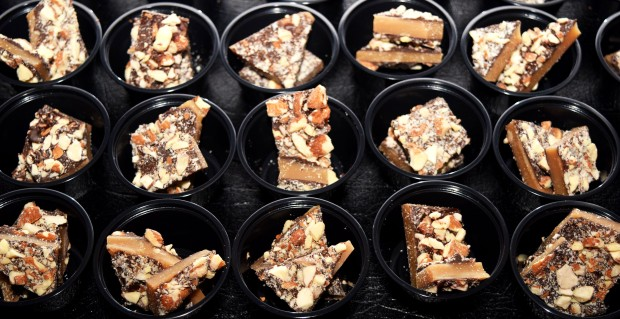 Our Dark Chocolate Almond Toffee